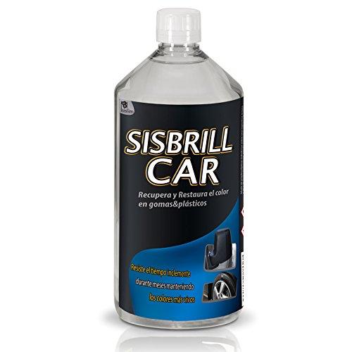 Sisbrill Car Acondicionador/Restaurador de plásticos y gomas 1L