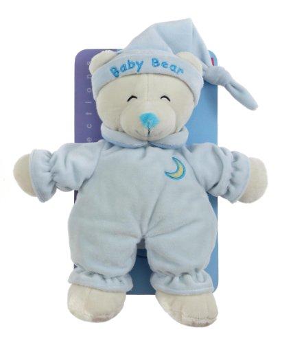 Gipsy 070108 - peluche per neonato baby bear da 24 cm, colore: blu
