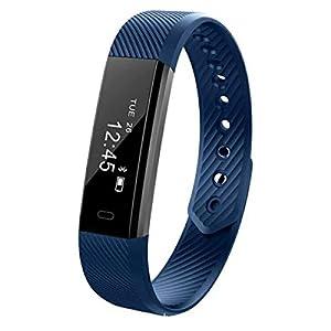 DANILE Herzfrequenzüberwachung Gesundheit Anruferinnerungen Bewegung Wasserdicht Pedometer Intelligenz Sport Armband
