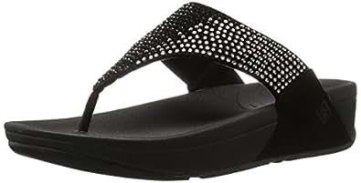 Fitflop Flare, Women's Sandals, Black (Black 001), 3 UK (36 EU)