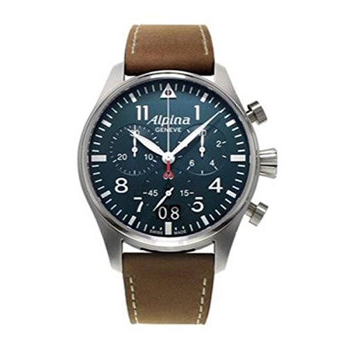 Alpina-Mens-Quartz-Watch-with-Chronograph-Quartz-Leather-372-N4S6