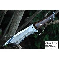 Couteau de chasse avec gaine en cuir couteau de survie