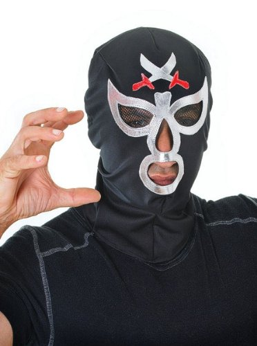 Macho Wrestler Mask Accessory Fancy (Wrestler Kostüme Ideen)