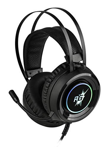 Redgear Cloak RGB Gaming Headphones with Microphone for PC Image 5