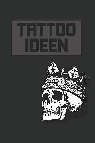 Tattooideen: Punktiertes Notizbuch mit 120 Seiten zum festhalten für alle Notizen, Termine, Skizzen, Texte, Zeichnungen und vieles mehr - Ebenfalls eine tolle Geschenkidee
