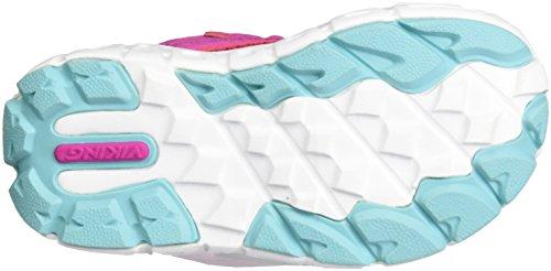 Viking Hobbit Gtx, Chaussures Multisport Outdoor mixte enfant Pink (Magenta/Turquoise)