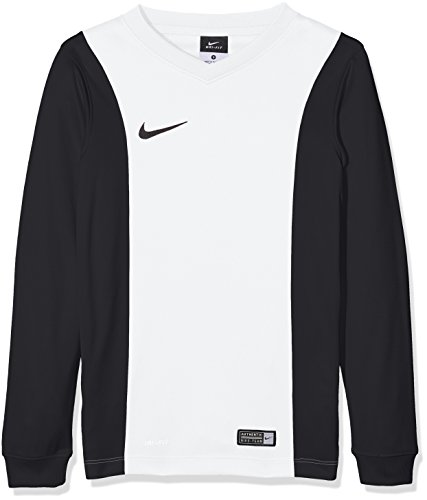 Nike long sleeve top yth park derby jersey, bambini, jersey park derby ls, bianco