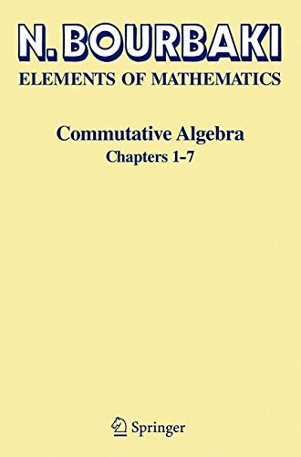 Commutative Algebra: Chapters 1-7