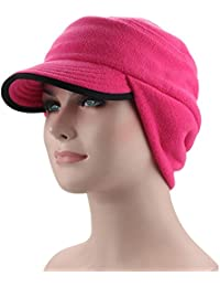 BeFur Women s Hat Winter Skullies Beanies Warm Soft Cap Hat Thermal Men s  With Earflap Neck Warmer e1951d4d652f