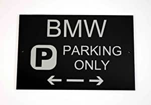BMW Parking Only Sign Amazoncouk Kitchen  Home - Bmw parking only signs