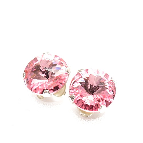 sterling-silver-stud-earrings-expertly-made-with-sparkling-light-rose-crystal-from-swarovskir-for-wo