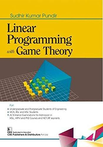 LINEAR PROGRAMMING WITH GAME THEORY (PB 2020)
