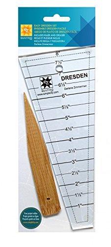 Simplicity EZ Quilting Tools Einfache Dresden Quilt Werkzeug Set -