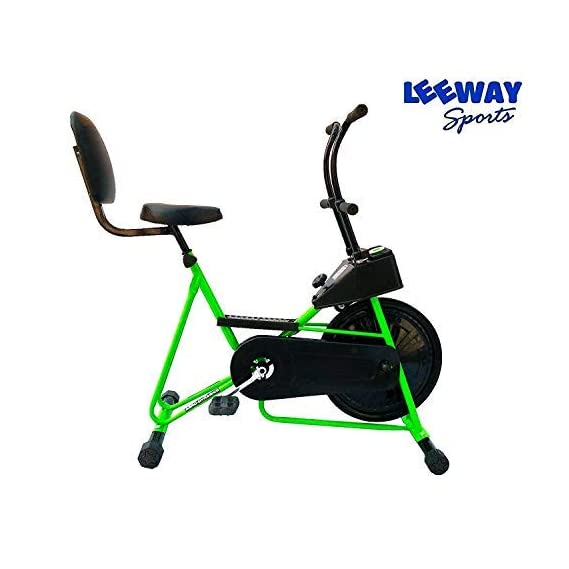 Leeway Exercise Cycle with Back Support| Fix Handle Gym Bike for Home Use| Deluxe Design of Fitness| Lifeline for Cardio Work Out| Weight Loss Cross fit Equipment| Stamina BGA 201 Exercise Bike