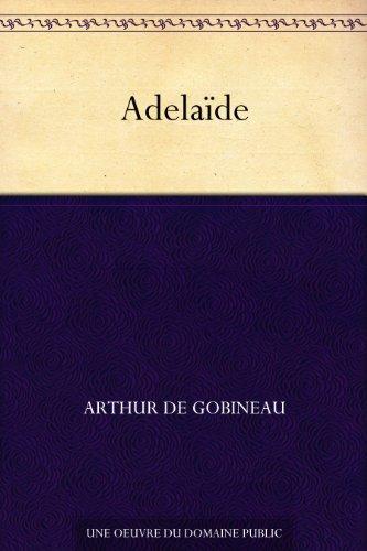 Couverture du livre Adelaïde
