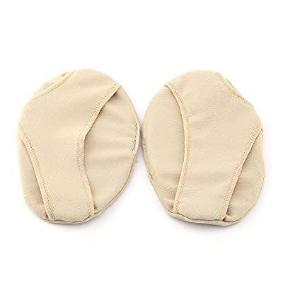 Fabric Gel Metatarsal Ball Of Foot Insoles Pads Cushions Forefoot Pain Support