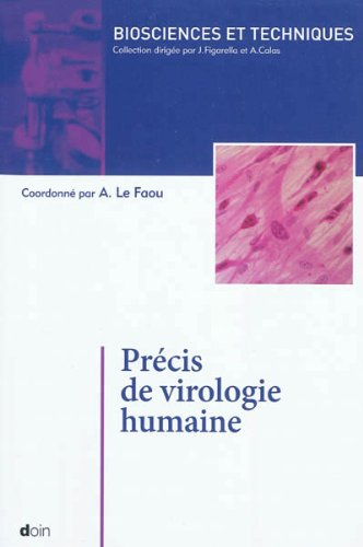 Précis de virologie humaine par Alain Le Faou