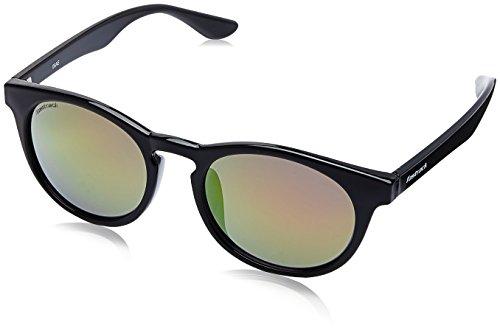 Fastrack UV Protected Goggle Men's Sunglasses - (P378RD4|58|Black Color) image