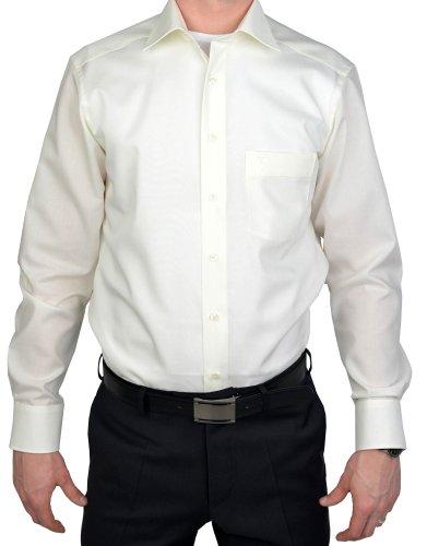 Marvelis Modern Fit Hemd creme Creme