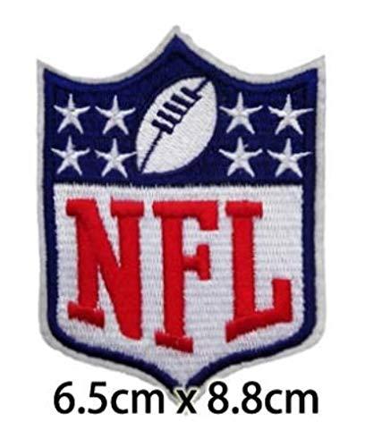 NFL Shield 8Star Patch Logo bestickt - Logo Bestickte Jeans Shirts