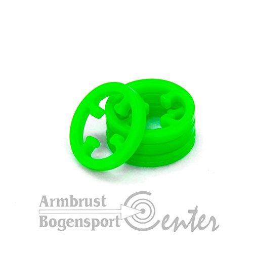 LIMBSAVER BROADBAND RINGE, Ersatzringe für Limbsaver Broadband in grün, 4 Stk/Packung