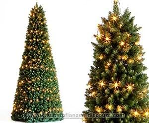 k nstliche weihnachtsbaum pyramide mit led beleuchtung. Black Bedroom Furniture Sets. Home Design Ideas