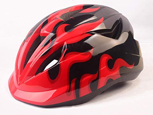 UNYU Special Cool Ultralight Kids Toddlers bici caschi multi-sports confortevole casco di sicurezza, unisex, Red, Taglia unica