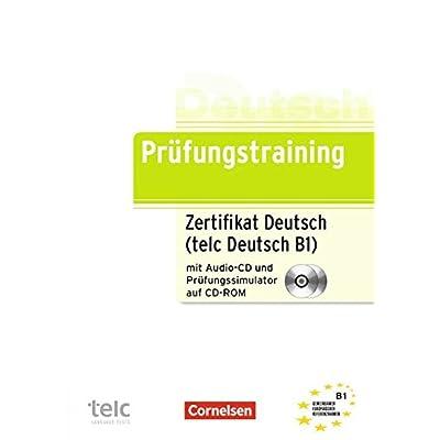 Pdf Prüfungstraining Daf B1 Zertifikat Deutsch Telc Deutsch B1