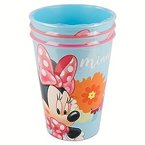 Set DE 3 Vasos Picnic Minnie Mouse Bloom