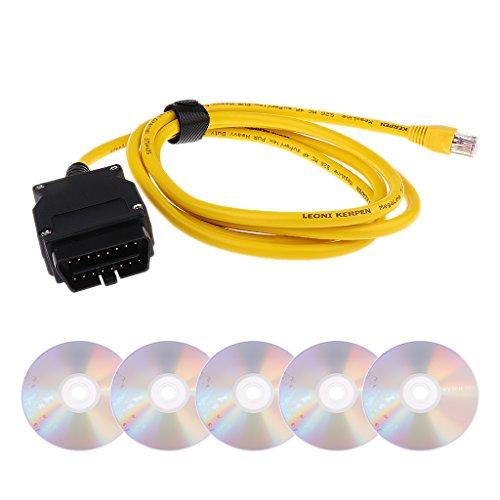 Preisvergleich Produktbild Gazechimp Multifunktions OBD2 Stecker Adapter mit 5 CDs für BMW