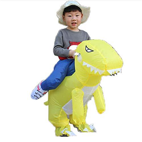 8HAOWENJU Aufblasbare Dinosa, aufblasbare Dinosaurier, aufblasbare Dinosaurier Kostüm, aufblasbare Dinosaurier Kleidung Sumo aufblasbare Kleidung Festival Requisiten Party Geburtstag lustige Dinosauri (Gute 2 Personen Kostüme)