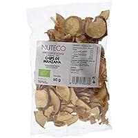 Nuteco Chips de Manzana BIO - 4 Paquetes de 90 gr - Total: 360 gr