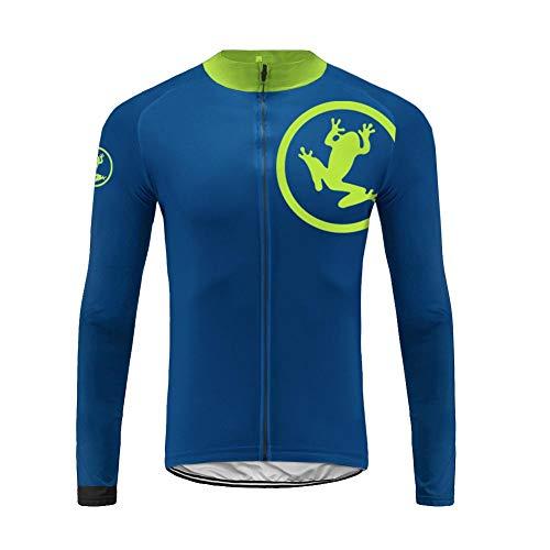 Uglyfrog Rennrad MTB Winter Herren Fahrradtrikot Langarm Radtrikot, Fahrrad Lange Hülsen Jersey