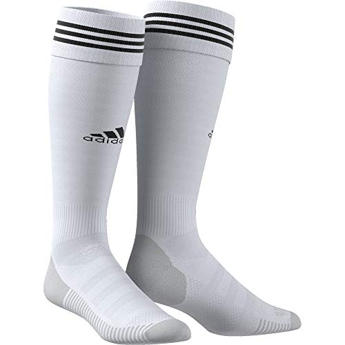 Adidas adisocks, calzettoni unisex - adulto, clear grey/black, 4345