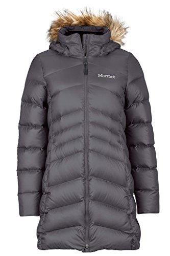 Marmot Damen Mantel Women's Montreal Coat Grau (Dark Steel), XS (Coat Von Down Marmot Womens)