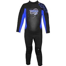TWF - Combinaison de plongée Turbo pour Enfant- Bleu, 12-13 Ans (Taille Fabricant : K13)