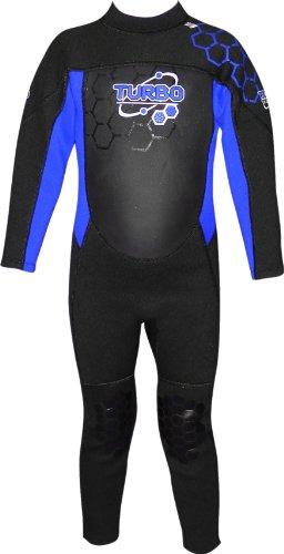 TWF Turbo 12-13 años Bleu - Traje para Deportes acuáticos, Color Azul, Talla 12-13 años