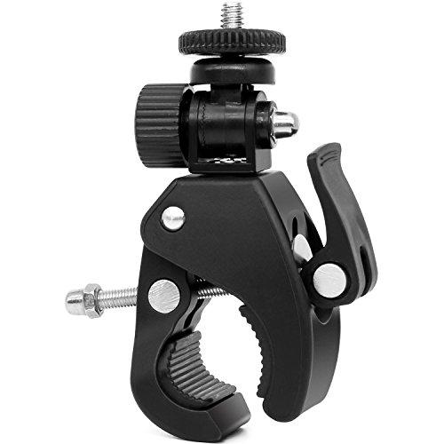 Kamera Super Clamp Quick Release Rohr-Bar Klemme Bike clamp W/1/10,2 cm-20 Gewinde Kopf für DSLR Kamera/DV/iPad/Monitor, für iPad Halterung/Musik steht/Mikrofon steht/Motorrad/Bike - Große Größe -