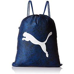 Puma Alpha gimnasio bolsas, color True Blue/Speckle, tamaño talla única