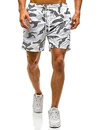 BOLF Herren Badehose Shorts Bermudas Kurzhose Fitness Sporthose Print Motiv Fitness Sport Wasser Sommer Men's Slim Moderm New Style Mix