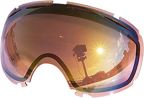 Lentes de repuesto para Oakley Canopy–Gafas antiventisca para nieve, Pink Mirror