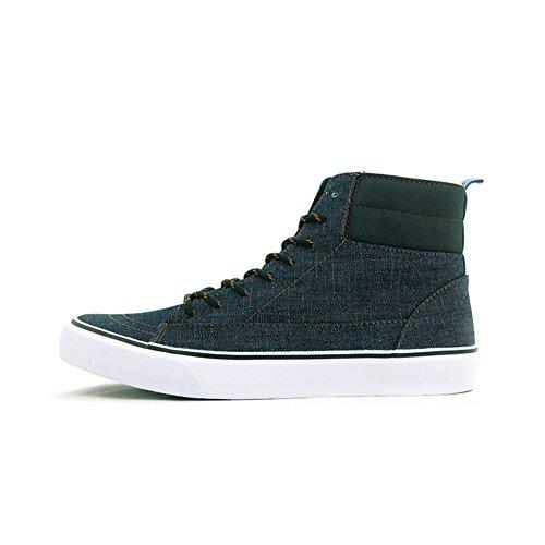 Autunno e inverno più pile scarpe calde/ Gao Bangfan scarpe uomo/ studente casual scarpe-B Lunghezza piede=25.3CM(10Inch)