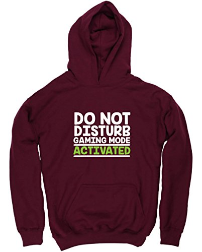 hippowarehouse-do-not-disturb-gaming-mode-activated-kids-unisex-hoodie-hooded-top