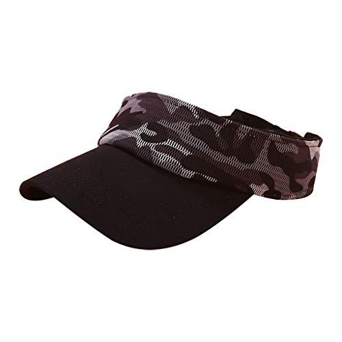 EERTX - ♛♛ Unisex Sommer-Hut-Sonnenschutz-justierbarer Baseball Mütze verstellbar stylisch und hochwertig als Accessoire Retro/Klassiker/Tarnung Caps Big Star Visor