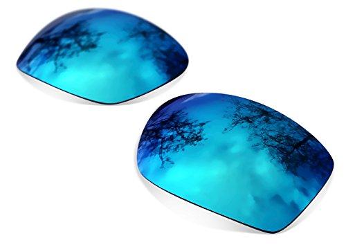 sunglasses restorer Kompatibel Ersatzgläser für Oakley Jupiter Squared, Polarisierte Ice Blue