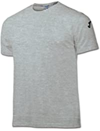 Joma - Camiseta Cotton Gris Melange Claro m/c para Hombre