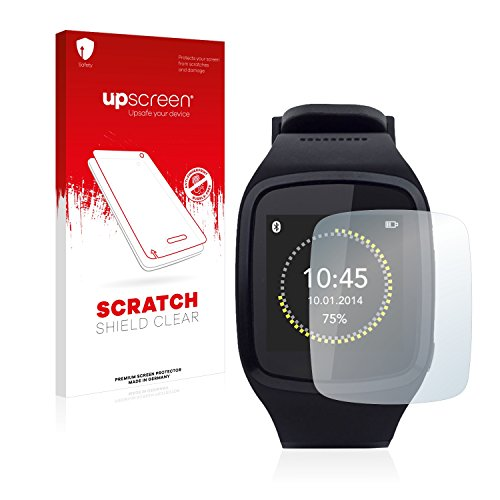 upscreen Scratch Shield Schutzfolie für MyKronoz ZeSplash - Kristallklar, Kratzschutz, Anti-Fingerprint