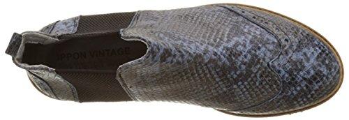 Ippon Vintage Hunter-Snak, Stivali Chelsea Donna Blu (Bleu)