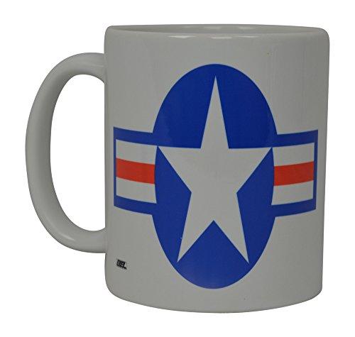 Best Kaffee Tasse USAF United States Air Force Emblem American Patriot Neuheit Tasse Tolles Geschenk Idee für Frauen Herren Usaf Military Veteran