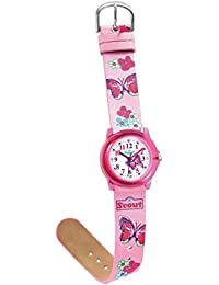 Scout Mädchen-Armbanduhr Analog Quarz Kunstleder 280305013